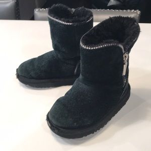 UGG Boots Toddler Size 10 Black